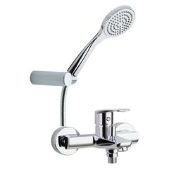 Смеситель для ванны с изливом и душевым комплектом NEW FLY 570502T1