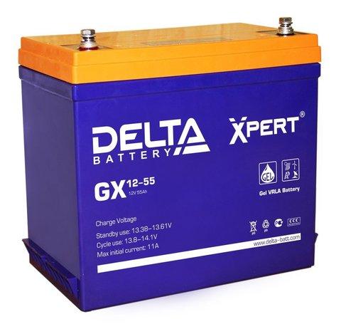 Аккумулятор тяговый DELTA GX 12-55 Xpert