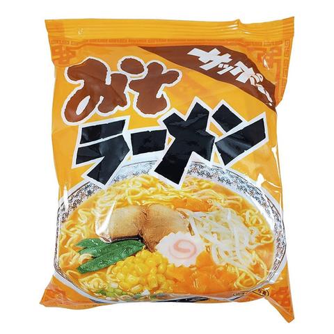 Японская лапша Sunaoshi с бульоном из мисо-пасты 420 гр