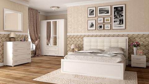 Кровать двойная Ника-Люкс 37 с подъемным механизмом Ижмебель 140х200 дуб бодега