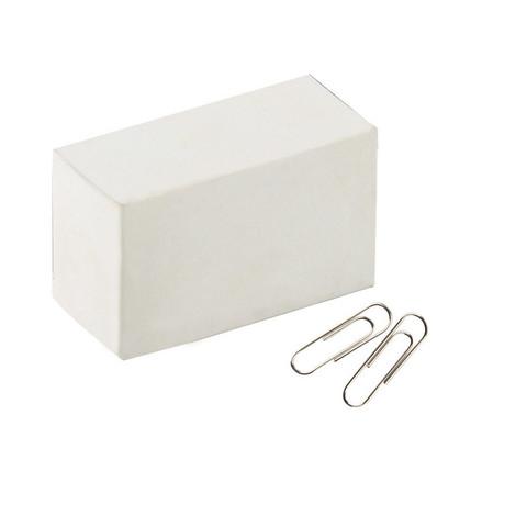 Скрепки Attache Economy металлические никелированные 28 мм (100 штук в упаковке)