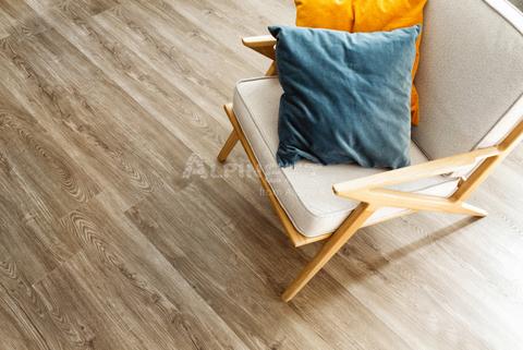 Каменно полимерный виниловый ламинат  Alpine Floor Sequoia Темная ECO 6-12