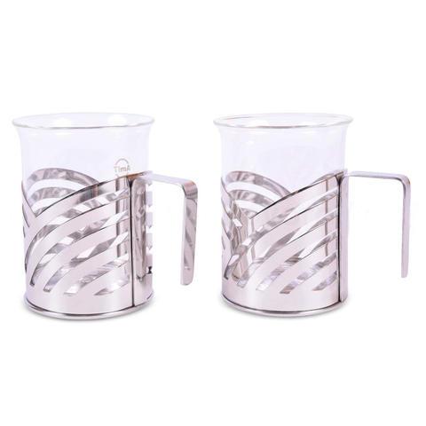 Стеклянные стаканы Безе - TIMA 200 мл 2 штуки