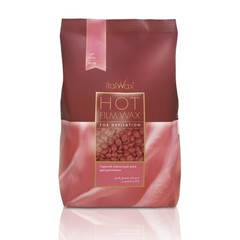 Italwax, Воск для депиляции горячий в гранулах «Роза», 1 кг