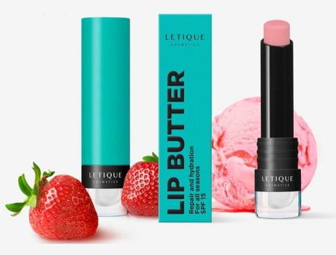 Letique Бальзам для губ сладка клубника Lip Butter - Sweet Strawberry