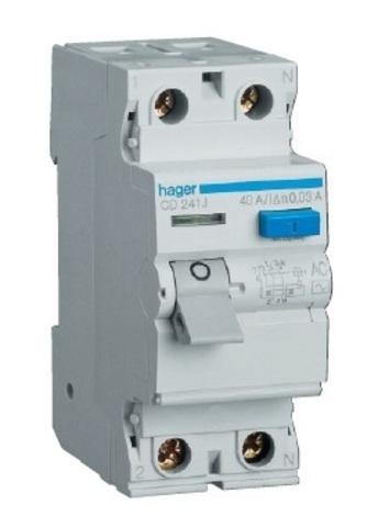 Устройство защитного отключения 2P 63A 100mA AC 2М