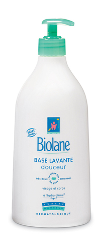 BIOLANE Основа мягкая моющая для лица и тела, BASE LAVANTE DOUCEUR 200мл