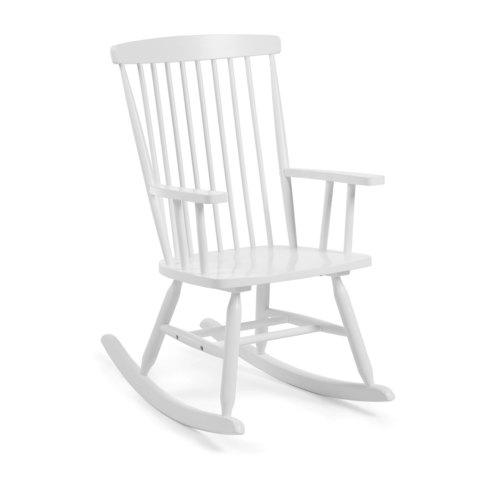 Кресло-качалка Terence белое