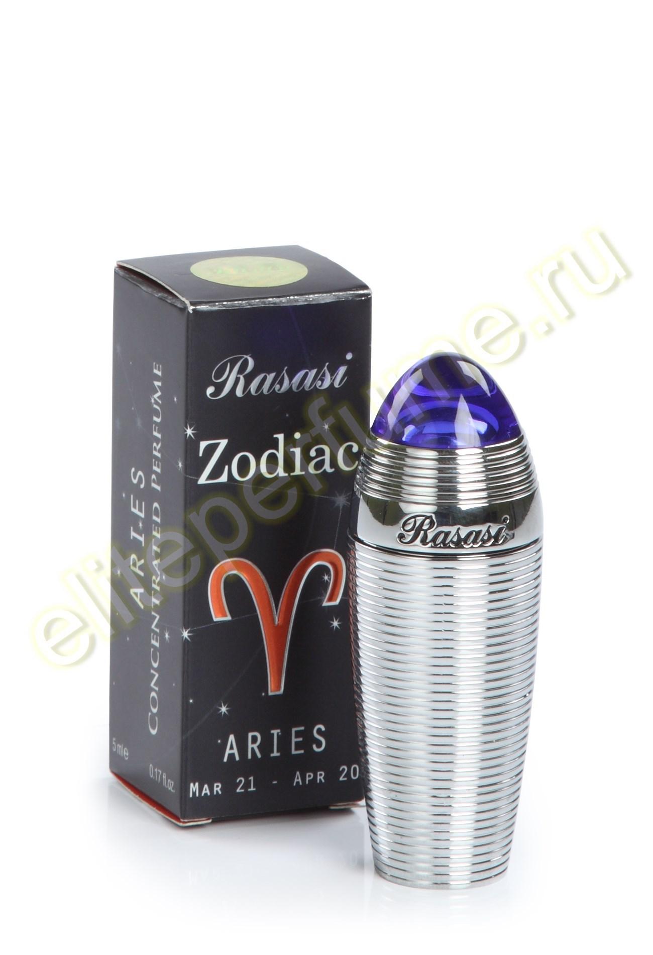 Пробники для арабских духов Зодиак Овен Zodiac Aries 1 мл арабские масляные духи от Расаси Rasasi Perfumes
