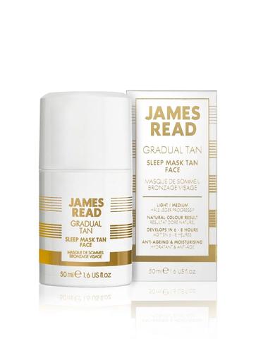 Ночная маска для лица уход и загар  James Read Sleep Mask Face Tan