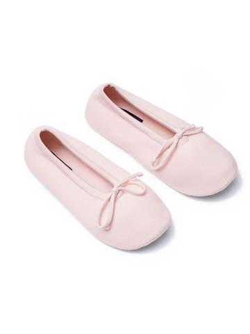 Женские носки светло-розового цвета из вискозы - фото 2