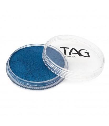 Аквагрим TAG 32гр перламутровый синий