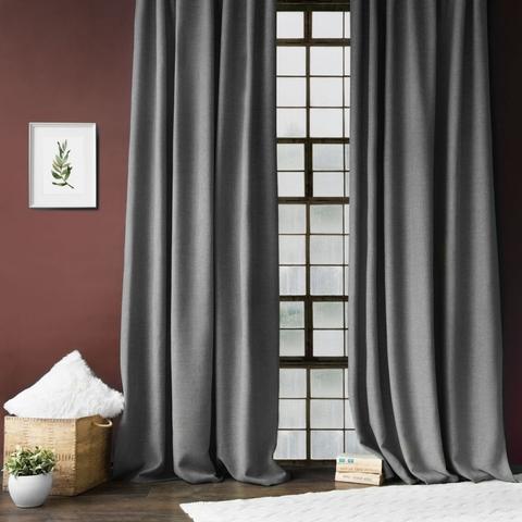 Комплект штор с подхватами Джулия серый