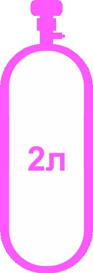 Баллон 2 л