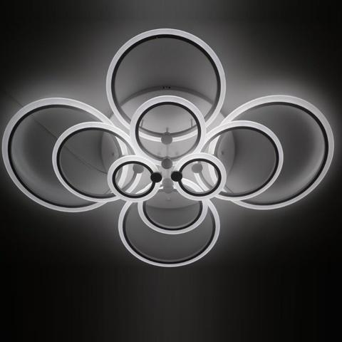Потолочная светодиодная люстра MX-10025/10 WH