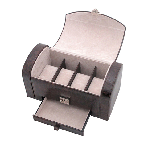 Шкатулка для мужских аксессуаров Jardin D'Ete, цвет коричневый