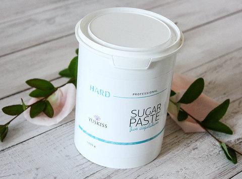 Сахарная паста для шугаринга YUSKISS 1,5 kg HARD