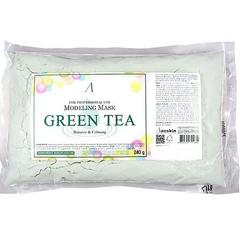 Успокаивающая альгинатная маска Anskin Green Tea Modeling Maskс экстрактом зелёного чая 240 гр пакет
