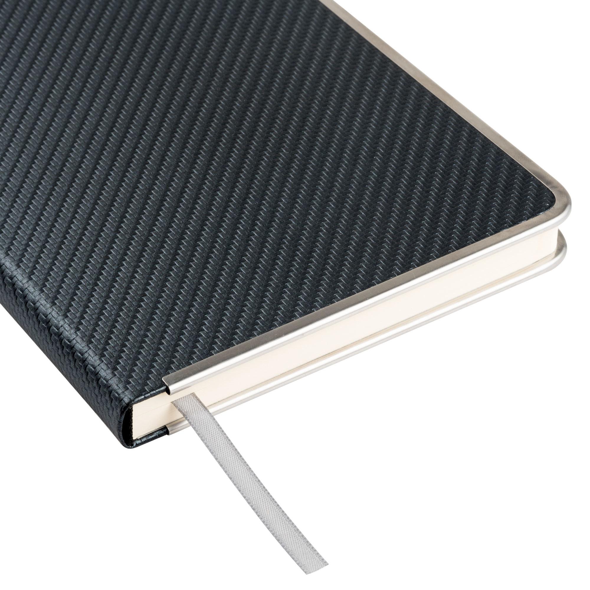 Ежедневник недатированный, Portobello Trend, Carbon , 145х210, 256 стр, черный