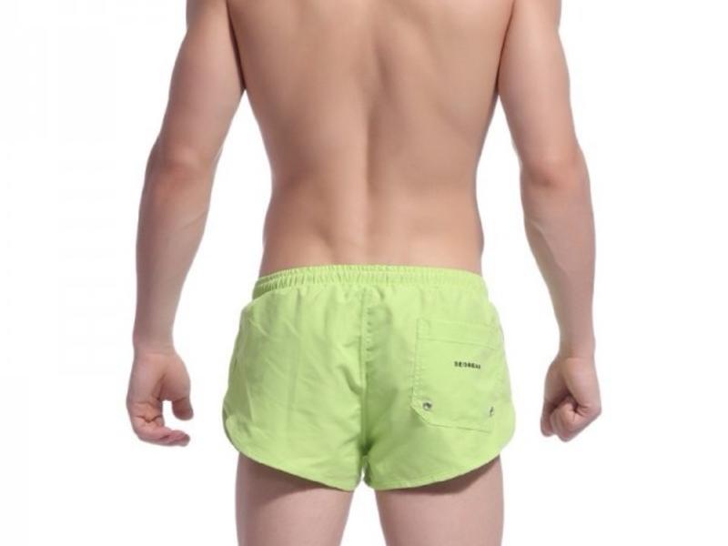 Мужские шорты купальные  зеленые Seobean Shorts Green