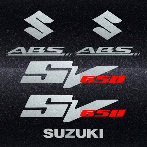 Набор виниловых наклеек на мотоцикл SUZUKI SV 650 2007