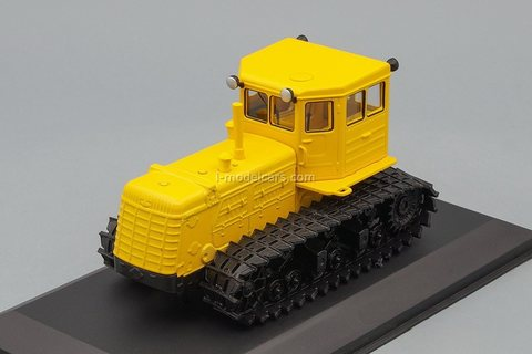 Tractor T-180 yellow 1:43 Hachette #139