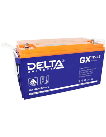 Аккумулятор тяговый DELTA GX 12-65 Xpert