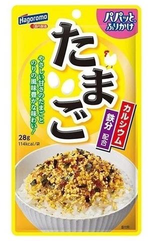 Приправа для риса фурикакэ Hagoromo с водорослями и яйцом 28 гр