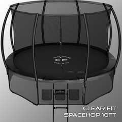 Clear Fit SpaceHop 10Ft