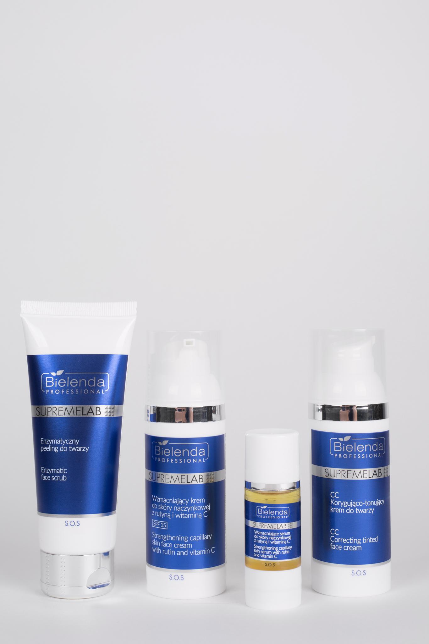 S.O.S Укрепляющая сыворотка для куперозной кожи с рутином и витамином С, 15 мл.