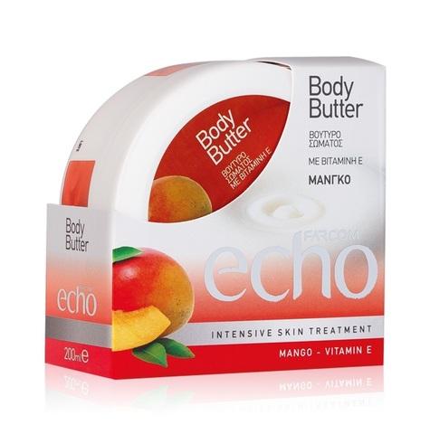 Крем масло  Body batter для тела Есhо Манго 200 мл