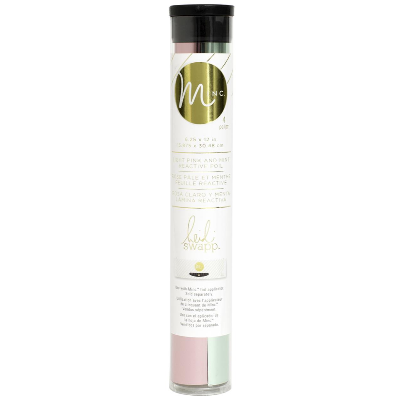 Тонерочувствительная фольга для MINC от Heidi Swapp- Mint & Light Pink