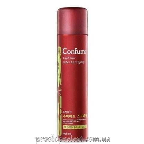 Welcos Confume Total Hair Super Hard Spray - Спрей для волос суперсильной фиксации