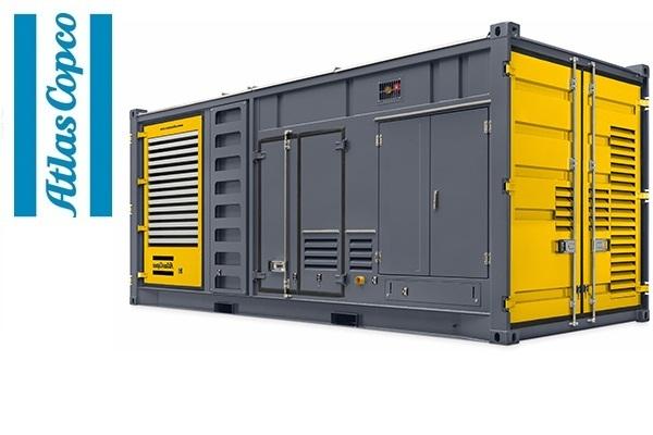 Дизельная электростанция (генератор) Atlas Copco QAС 1250