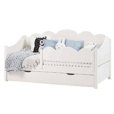 Детская кровать с бортиком и ящиками Кидс 28