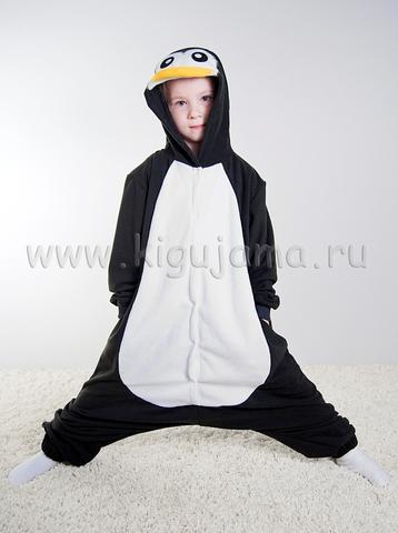 "Пижама кигуруми детская ""Пингвин"""