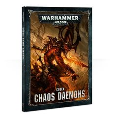 Codex: Chaos Daemons 8th edition