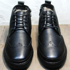 Зимние ботинки мужские Rifellini Rovigo C8208 Black