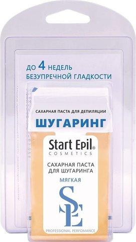 Сахарная паста для депиляции в картридже Start Epil мягкая 100гр + бумажные полоски
