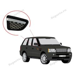 Решетка воздухозаборника правая Range Rover Sport 2010