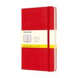 Блокнот Moleskine Classic Large красный (QP061R)
