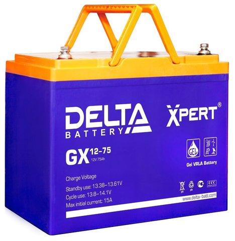 Аккумулятор тяговый DELTA GX 12-75 Xpert