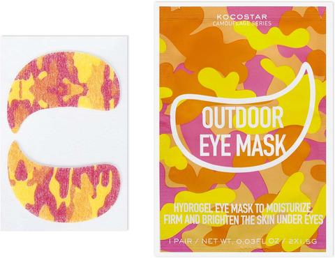 Kocostar Camouflage Гидрогелевые патчи для глаз на тканевой основе (1 пара) 3г/ Hydrogel Eye Mask