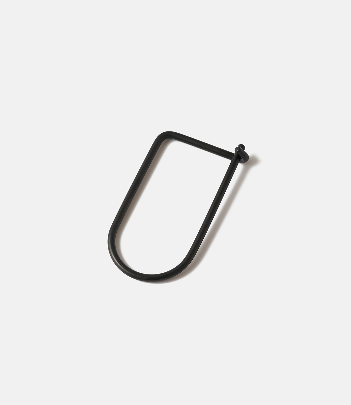 Craighill Wilson Carbon Black — ключница из стали: чёрный