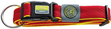 Ошейники Ошейник для собак Hunter Maui S (32-45 cм)/2,5 см сетчатый текстиль красный 92696.jpg