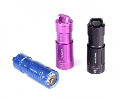 Карманный фонарь Fenix UC02 Cree XP-G2 S2 (синий, черный, пурпурный)