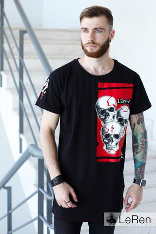 Футболка LeRen Fight Skull Black