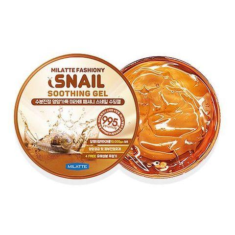 Milatte Fashiony Snail Soothing Gel многофункциональный гель с улиточной слизью