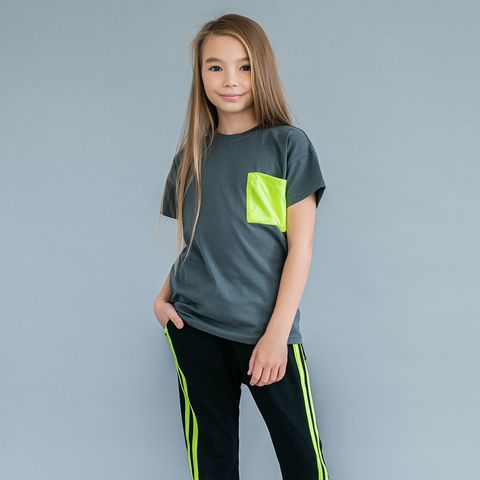 Neo T-shirt for teens - Gray