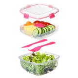 Контейнер для салата с разделителями и приборами TO-GO 1,1л, артикул 21356, производитель - Sistema, фото 5